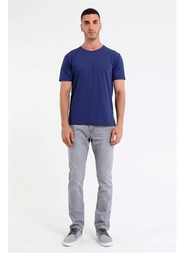 Rodi Jeans Erkek Bisiklet Yaka Basic T-Shirt Rd21Ye270930 İndigo